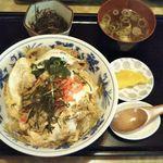 中華のんき - 料理写真:ラーメン屋さんのかつどんぶり 750円