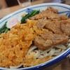翁そば - 料理写真:むじなそば(600円)