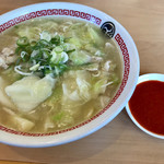 茨城タンメン カミナリ - 料理写真:あんかけイバタン 辛味噌別皿で注文