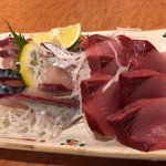 魚田 - 清水サバ刺身