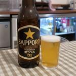 フジオ軒 - 瓶ビール(大)