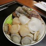 六文銭 - 海の幸バター焼き