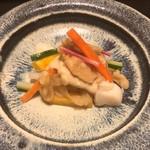 喜想菴 - 料理写真:秋野菜のなますに胡麻和え