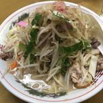 わたなべ - 料理写真:ちゃんぽん@750