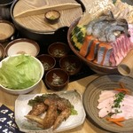 天籟山 - 料理写真:すなかぶりコース3500別 〆はこんなに選べます