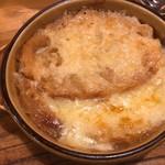 ラ ペッシュ - 本日のスープ オニオングラタン 1,200円