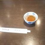 神田きくかわ - あったかいお茶が美味しい季節です。