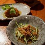 孫 - 牛肉とマコモダケの黒胡椒香り炒めセット 2160円