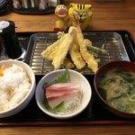 天ぷら三丁目 - 料理写真:天ぷら定食1,080円(税込)