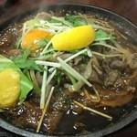 さんきち - 牛肉鉄板焼定食