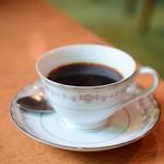 チャベ - 【牛モツ煮スープとごはん@税込850円】トラジャコーヒー