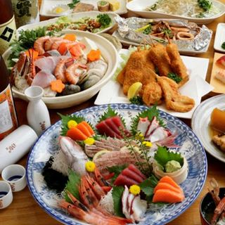 ◆各種ご宴会◆大容量!2時間飲み放題付きコース4,200円~