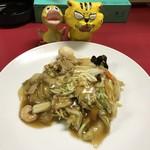 中華料理 花蓮 - 料理写真:五目焼きそば580円(税込)