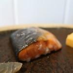 ベーコン工房 燻太 - 鮭の燻製