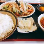 昇龍 - 野菜炒め定食