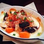 Bistro Roven - 茄子と野菜の味噌チーズ焼き
