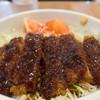 蕎麦カフェ田伝 - 料理写真:ソースカツ丼:1,000円/2018年10月