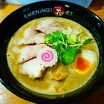 ラーメン人生JET600 - 料理写真:鶏煮込みそば+ダブル