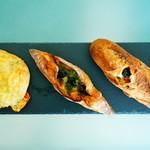 95348576 - 朝食のパンたち