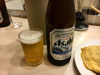 洋食 おなじみ - オムライスも飲み物やからビール要らんかった(;ω;)