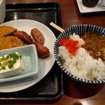 駅裏食堂 - 朝カレー