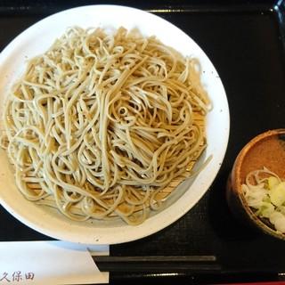 久保田 - 料理写真:限定10食だったん蕎麦520円+大盛り200円