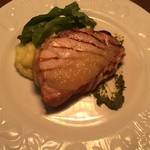 東北の美味しい 豚ロースのグリル