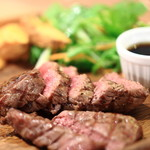 肉バルGABUTTO - 黒毛牛ランプステーキ
