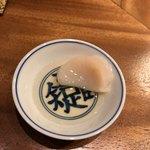 メデ・イタシ - 帆立を煎り酒