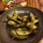 メデ・イタシ - 煮枝豆
