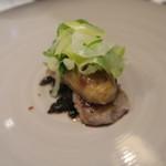 シャントレル - 牡蠣、里芋ニョッキ
