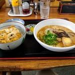 味千ラーメン - カツ丼定食 750円