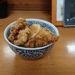 95356813 - ミニ丼・鶏天丼(うどんとセットで+310円)
