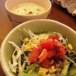 REGAL - ランチのサラダとスープ