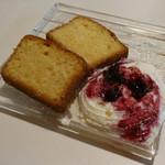 ガーデンカフェ マツムシコーヒー - パウンドケーキ