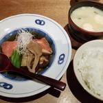 といろ - 本日の煮魚(金目の煮つけ)(1100円)×ご飯セット(500円)