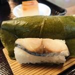 春日荷茶屋 - 大和名物膳(1,500円)の柿の葉すし