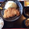 Miraku - 料理写真:ロースカツ定食(¥980)