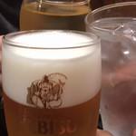 95363329 - 乾杯                       生、焼酎、白ワイン