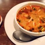 95365801 - トムヤムスープと唐辛子のお菓子