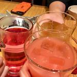 95365862 - 先ずは「カンパリグレープフルーツ」や「梅酒」でカンパ〜イッ♫