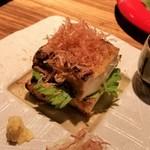 博多ほたる - 糸島あげの藁焼き。