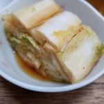 95367889 - 白菜の漬物(ラパ菜)