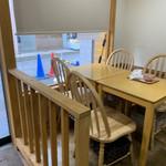 雪菓 - テーブル席