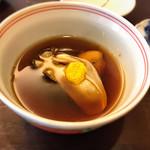 すい庵 - 牡蠣煮