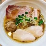 95375145 - 秋刀魚の鶏塩そば
