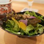 鳥恵 - 季節野菜のサラダ
