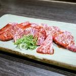 炭火焼肉屋台 たじま屋 - ☆特上カルビ(タレ)1200円