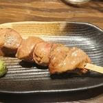 炭火串焼 鶏ジロー - 白レバー
