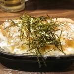 炭火串焼 鶏ジロー - 納豆チーズ厚焼き玉子